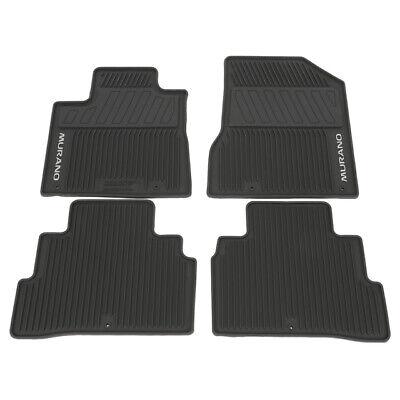 Genuine Nissan Murano Black All Season Floor Mats 999E1-C7000