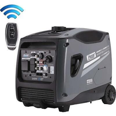 Pulsar 4,500 Watts Portable Inverter Generator w/ ...