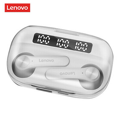 Lenovo Gaming Headset Bass Noise-Reduction QT81 Wireless Original Stereo 40mAh