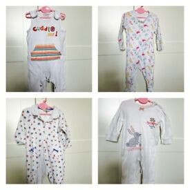 Baby Girl Clothes Bundle 0-6 months (mainly 3-6).