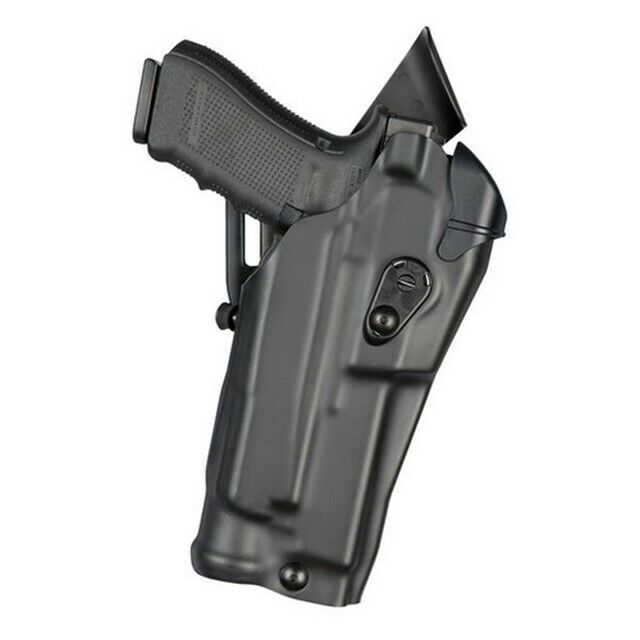 Safariland 6390RDS-2832-411 ALS Mid-Ride Holster STX Tactical RH For Glock 19/23