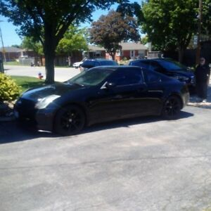 2003 Infiniti G35 Black Coupe (2 door)