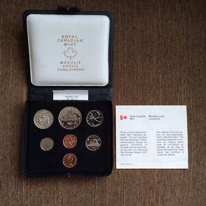 Canada 1978  Uncirculated Set of 7 Coins