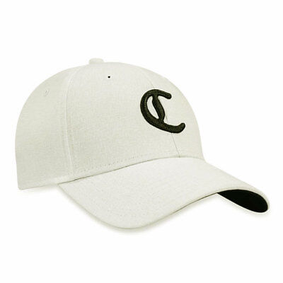 CALLAWAY GOLF C COLLECTION FITTED CAP   HAT SZ  L XL WHITE BLACK NEW! 18948 e83acae54b15