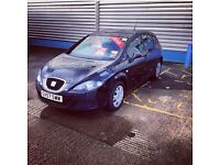Black seat leon 1.6 petrol 57 plate