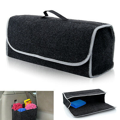 Large Car Van Boot Storage Bag Velcro Organiser Tools Breakdown Travel Tidy Case