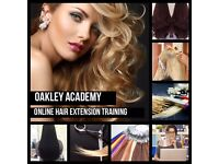 ONLINE HAIR EXTENSION TRAINING! LEARN FROM HOME!
