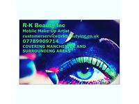 Mobile Make up Artist *Fully Qualified* covering all over Manchester