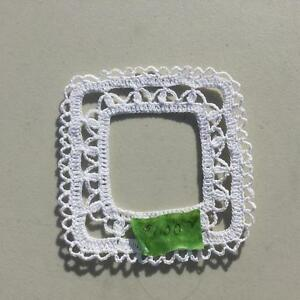 Crocheted Picture Frames