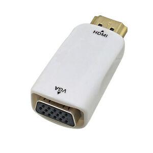 Adapteur HDMI a VGA pour Ecran/Moniteur -- (ChromeCast par fils)