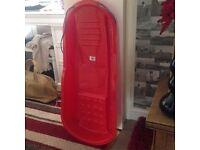 plastic sledge , new used