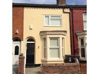 NO DEPOSIT REQUIRED.... Three bedroom unfurnished Terrace available in Miranda Road, L20