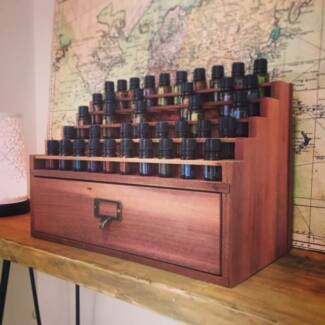 Doterra Essential Oil Display Cabinet