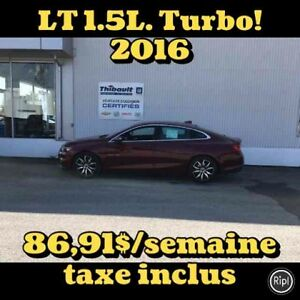2016 CHEVROLET MALIBU LT 1.5L TURBO