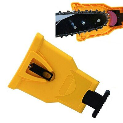 Chainsaw Teeth Sharpener - PowerSharp Bar-Mount Chainsaw Chain Sharpening