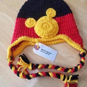 Mickey Mouse Sz 9-12 mths hat