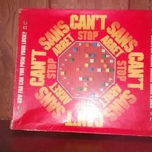 Can't Stop Game - Rare - Jeu de Sans Arret