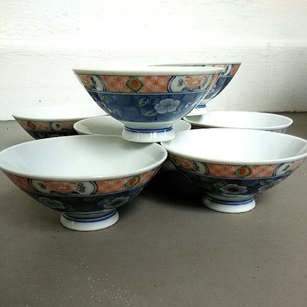 Rare Vintage Antique A Set Of 瑞山 Procelain Plates Kitchenware