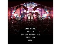 1 x Eric Prydz SteelYard Ticket