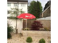 Coca Cola Patio / Beach Umbrella