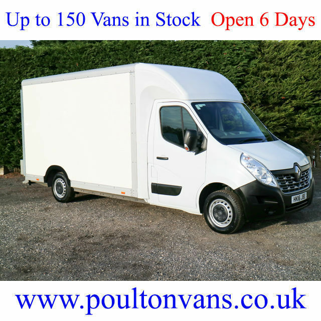 2016 (16) RENAULT MASTER LL35 BUSINESS 13'8 L3 LWB LO LOADER LUTON BOX VAN 125PS