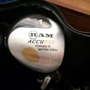Ram golf clubs with long shafts