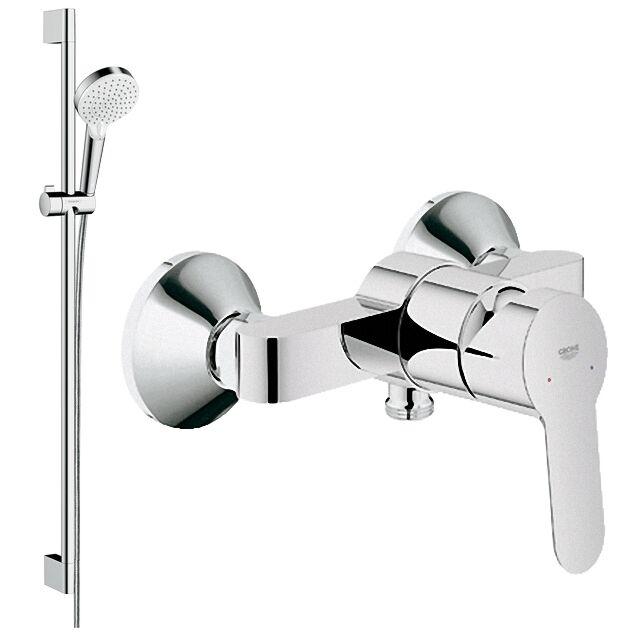 Grohe Thermostat Eurosmart Armatur HM Regendusche Shower Element Duschset SET