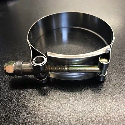 60-68 mm Heavy Duty T Bolt Hose Clamp Stainless fits Turbo Boost Pipe 2.25