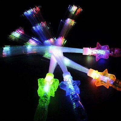 10 Princess Fiber Optic Wands Light Up Princess LED Fiber optic Glow Stick ](Fibre Optic Wands)