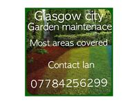Glasgow city garden services/ maintenance free quotes, friendly staff