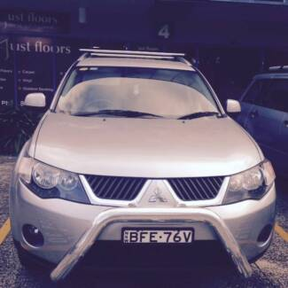 2008 Mitsubishi Outlander Wagon excellent condition Glenwood Blacktown Area Preview