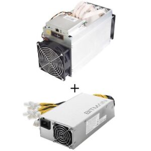2 Bitmain Antminer L3+ machines, including 3 Bitmain 800w PSUs