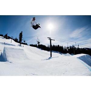 Snowboard waxing, tuning, repairs