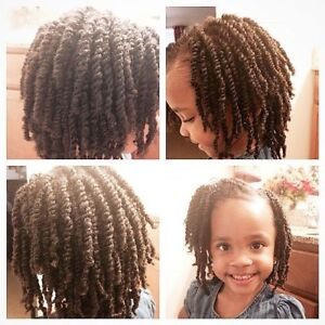 Natural Hair Care for Kids - Twists, Braids,  Cornrows