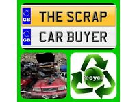We buy scrap vehicles call us today for a valuation