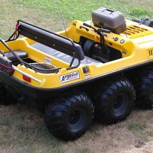 AMPHIBIOUS 6X6 ARGO BIG FOOT ALL READY FOR LAND OR WATER