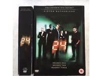 TV series 24, box set for series 1 - 4