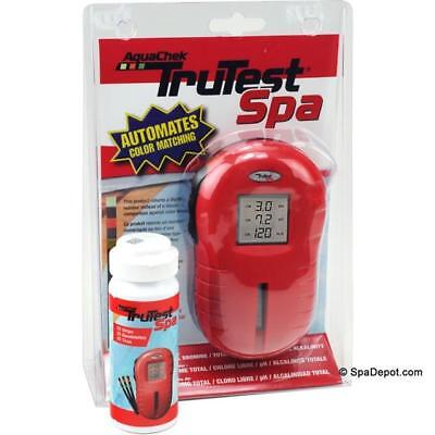 POOL/ HOT TUB/ SPA AQUACHEK BROMINE DIGITAL TRUTEST READER WITH 25 TEST STRIPS - Aquachek Spa Pool