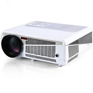 Weekly Promo! HTP HOME THEATER FULL HD 1080P MULTIMEDIA 2800 RELIABLE LUMENS LED PROJECTOR