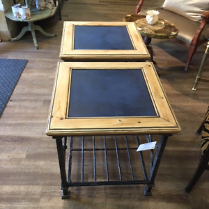 Custom End Tables at The Old Attic