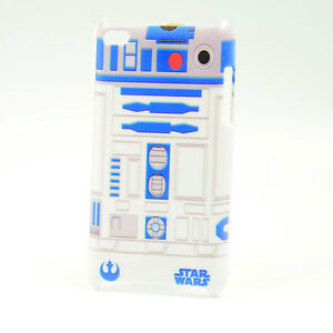 Funny Star Wars R2D2 Robot White Hard Cover Case For ipod Touch 4 4th Gen