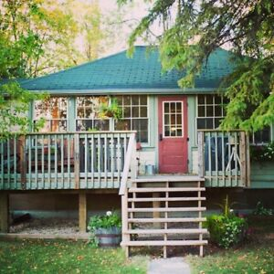 Historic Winnipeg Beach Cottage for rent.   September only.