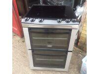£136.00 Zanussi sls/Black new model ceramic electric cooker+60cm+3 months warranty for £136.00