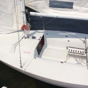 Just In Time For Summer - Impulse 21 Sailboat For Sale! Peterborough Peterborough Area image 2