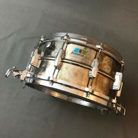 Early 80s ludwig Brass snare 14x6.5