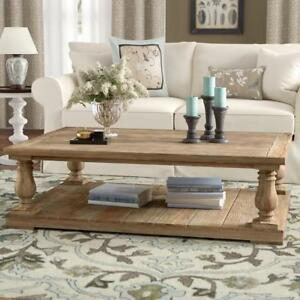NEW LARK MANOR COFFEE TABLE E425-30 198549464 AIRELLE RUSTIC PINE