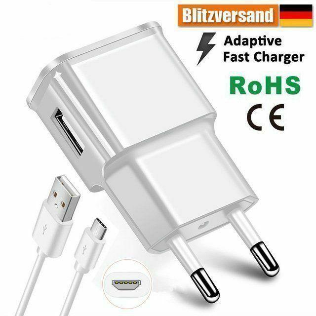 USB Schnell Ladegerät Für Samsung Huawei Kabel P9 P10 Mate 9 lite HTC Ladekabel