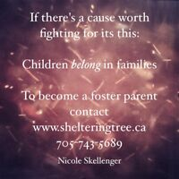 Foster Parents Needed In Peterborough & Surrounding Areas