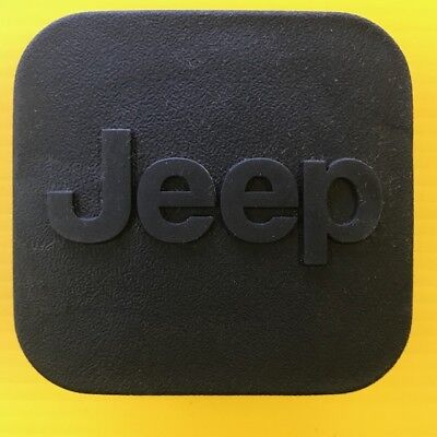 """2"""" JEEP Trailer Hitch Receiver Cover Plug"""