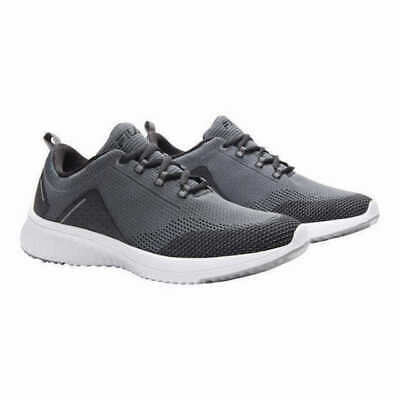 New - Fila Men's Verso Athletic Shoes Sneakers GRAY White Knit - Pick Size